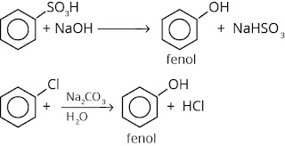 reaksi pembuatan fenol