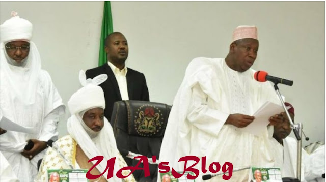 Shettima: God will bring Ganduje, Sanusi together again