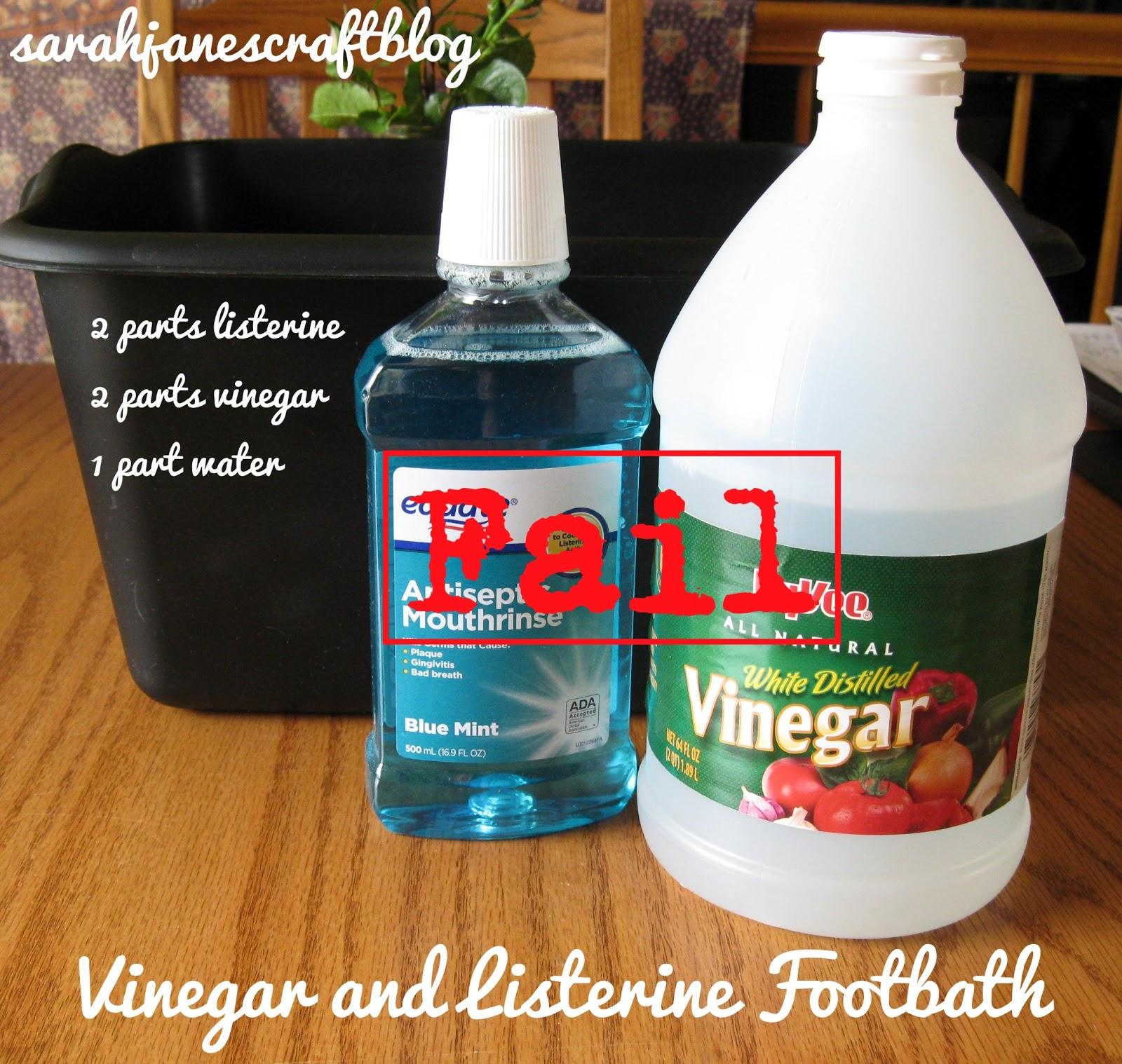 Sarah Jane S Craft Blog As Seen On Pinterest Vinegar And