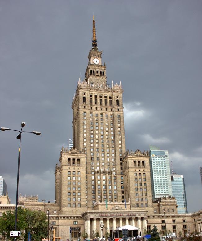 vacances à varsovie