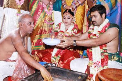 Sneha Prasanna wedding ritual