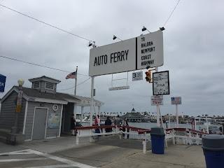 Balboa Island Ferry Dock