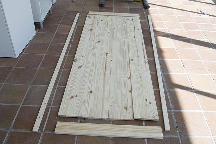 Oro y menta como hacer una mesa de comedor de exterior diy for Construir mesa de madera