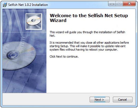 تحميل برنامج سيلفش نت 2018 Selfishnet لقطع الإنترنت برابط مباشر مجانا