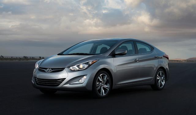 2014 Hyundai Elantra grey
