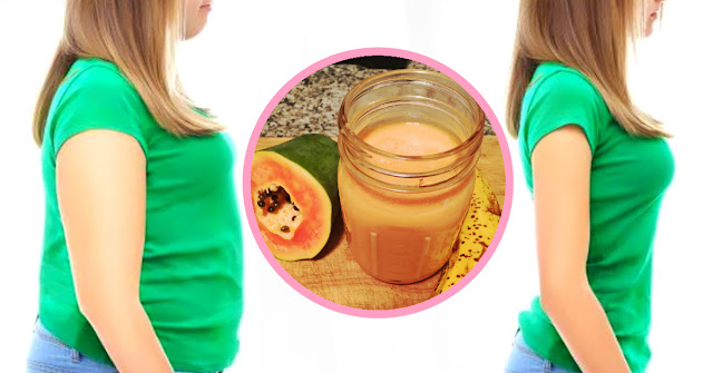 A Jar of Health – Fat Burning Papaya and Banana Smoothie