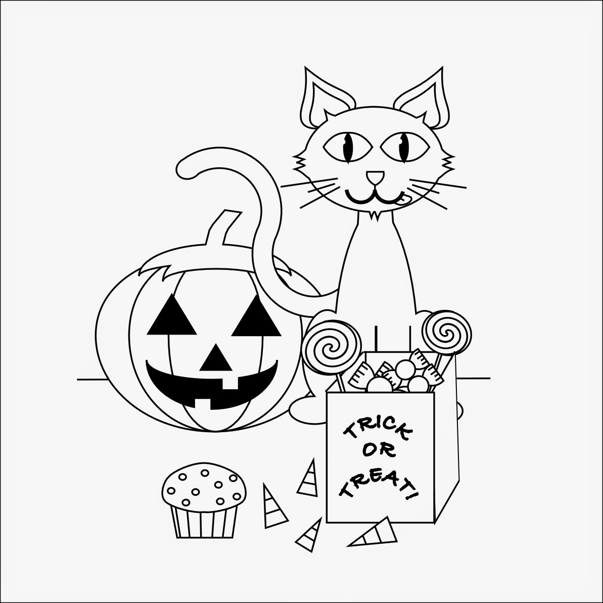 Coloring Pages: Halloween Free Printable Coloring Pages