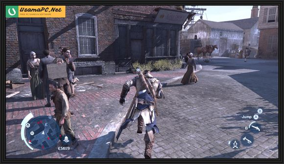 Assassin's Creed III PC Gameplay Screenshot