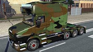 Scania T Camo skin