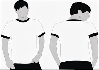 Corel Arte Modelo De Camisa