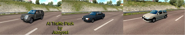 ets 2 ai traffic pack v9.2 by jazzycat screenshots 1, Land Rover Range Rover '14, Audi 100(C4), Alfa Romeo 145