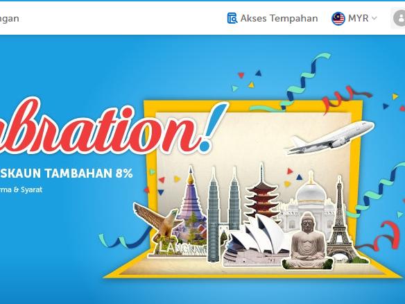Traveloka Sale-abration & Matta Fair 2018 - lebih diskaun tambahan
