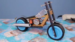 membuat sendiri motor mainan elektrik bisa jala