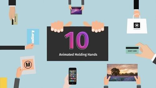 مشروع 10 حركات لعرض المنتجات بواسطة اليد للافتر افكت CS6 فأعلى