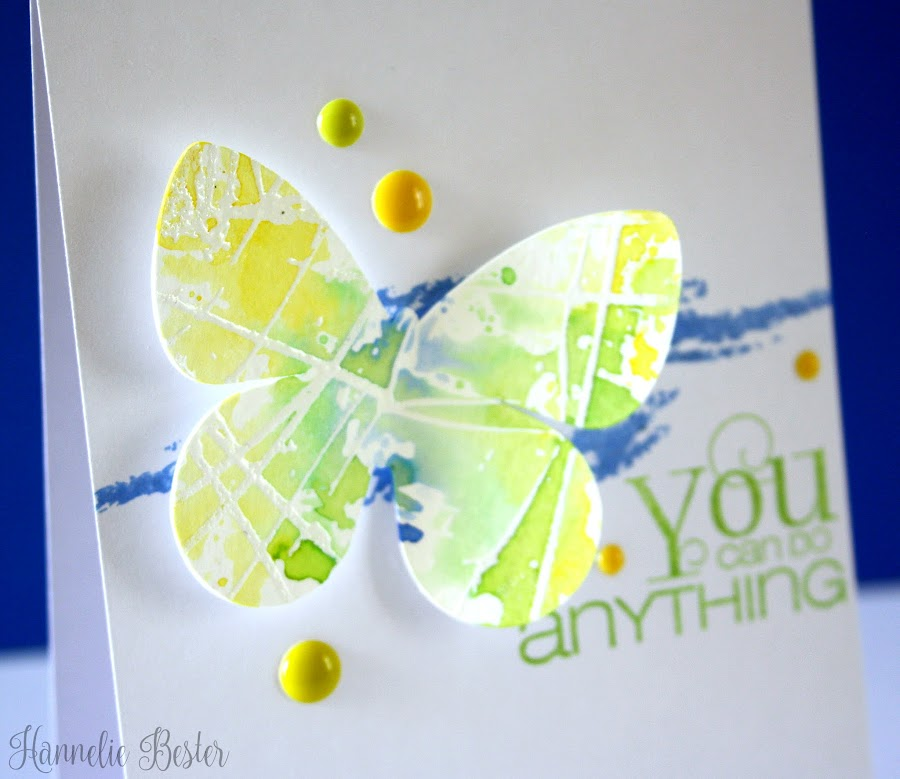 CAS butterfly card