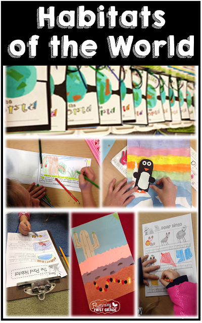 Habitats of the World lesson plans and activities