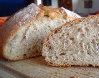 pan con corteza crujiente