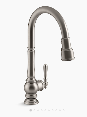 Building a Suburban Farmhouse- kitchen faucet- Moen-From My Front Porch To Yours
