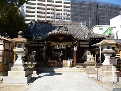 富島神社拝殿