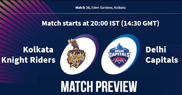 VIVO IPL 2019 Match 26 KKR vs DC Match Preview, Head to Head and Trivia