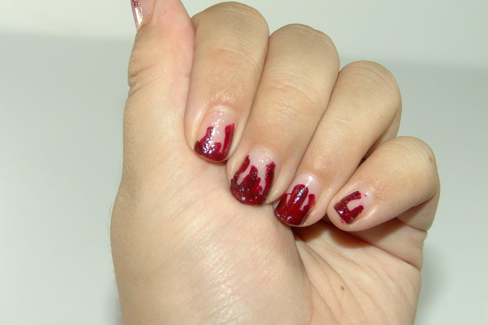 Nails | Vampire Blood Drip