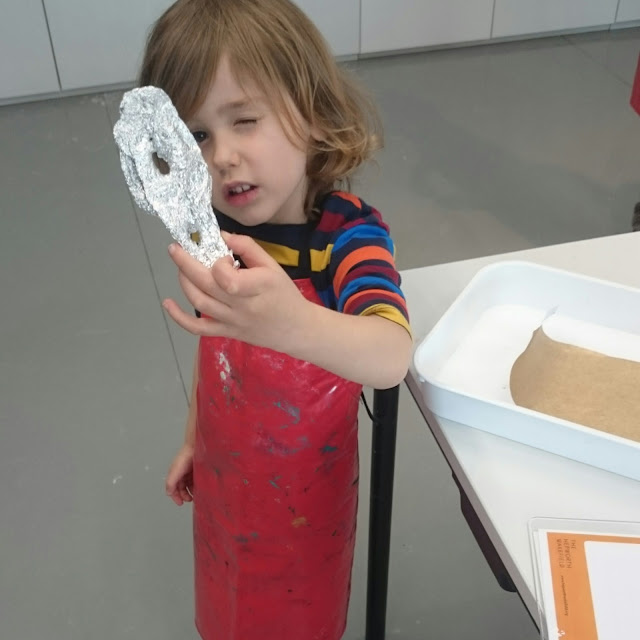 Sculpture making at the Hepworth