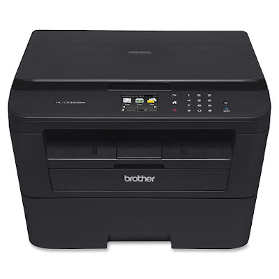 Color Touchscreen Display to Navigate and Scan to Cloud Services Dropbox Brother HL-L2380DW Driver Downloads