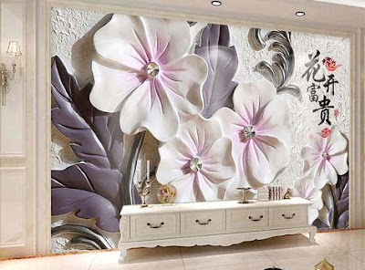 3D wallpaper for walls of living room interior designs 3D murals images (14)