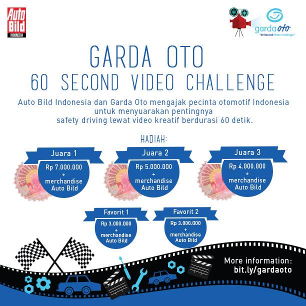 Garda Oto 60 Second Video Challenge