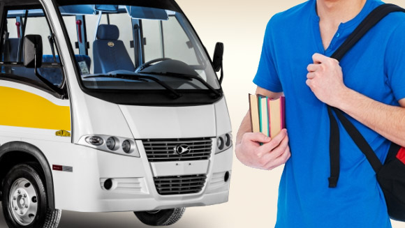 Vagas disponíveis para transporte universitário saindo de Barroquinha para Parnaíba