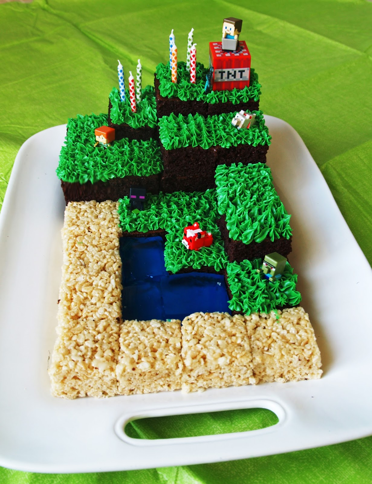 Jessica Kenenske Minecraft Party With Free Printables