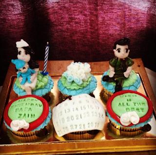Cupcake Ucapan Ulang Tahun
