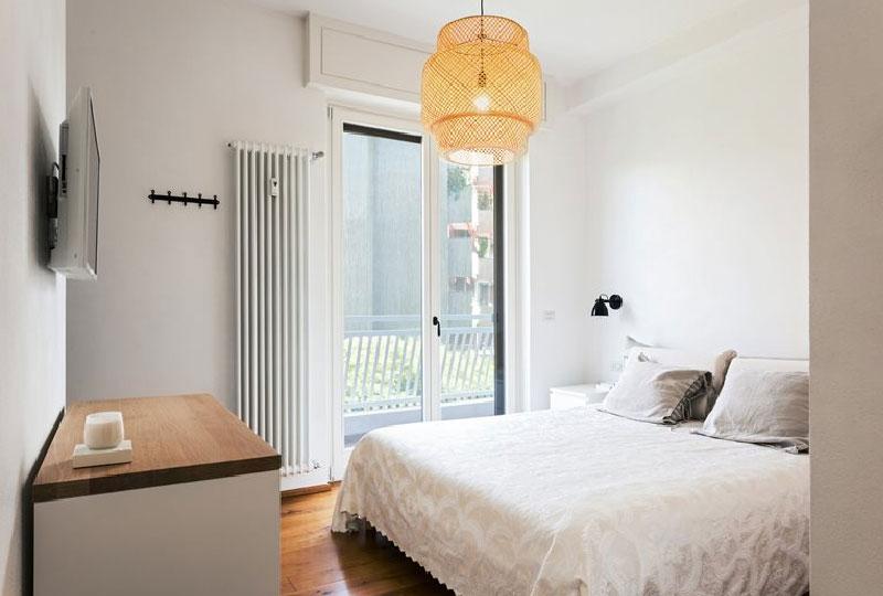 camera da letto - appartamento SD by Nomade Architettura