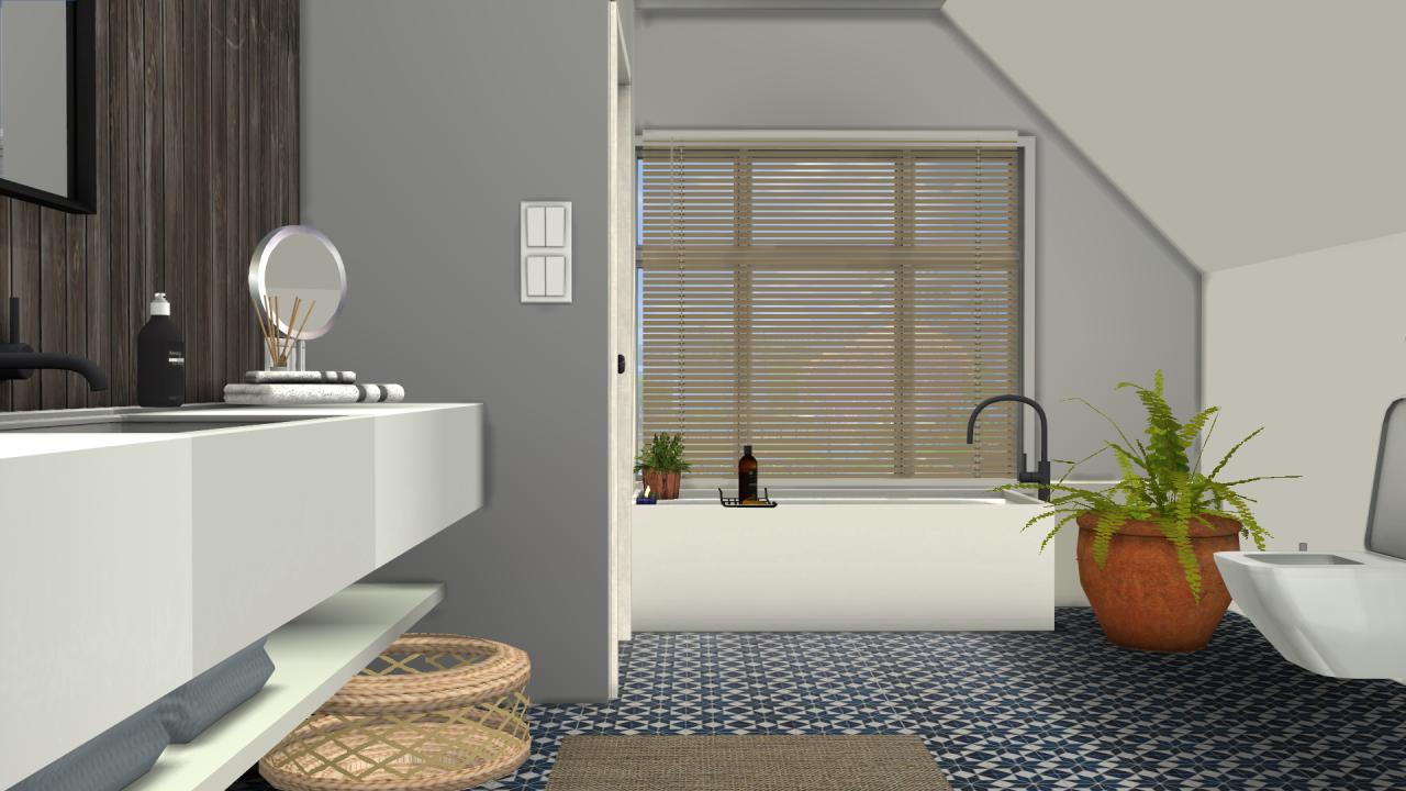 My Sims 4 Blog: MS91 Orama Bathroom Conversion By SanoySims
