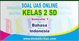 Soal UAS Bahasa Indonesia Online Kelas 2 ( Dua ) SD Semester 1 ( Ganjil ) - Langsung Ada Nilainya