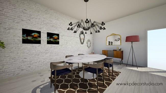 salon comedor diseño estilo escandinavo danes valencia