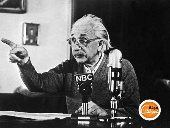 عشرة نصائح من أينشتاين للنجاح einstein-pressconfer