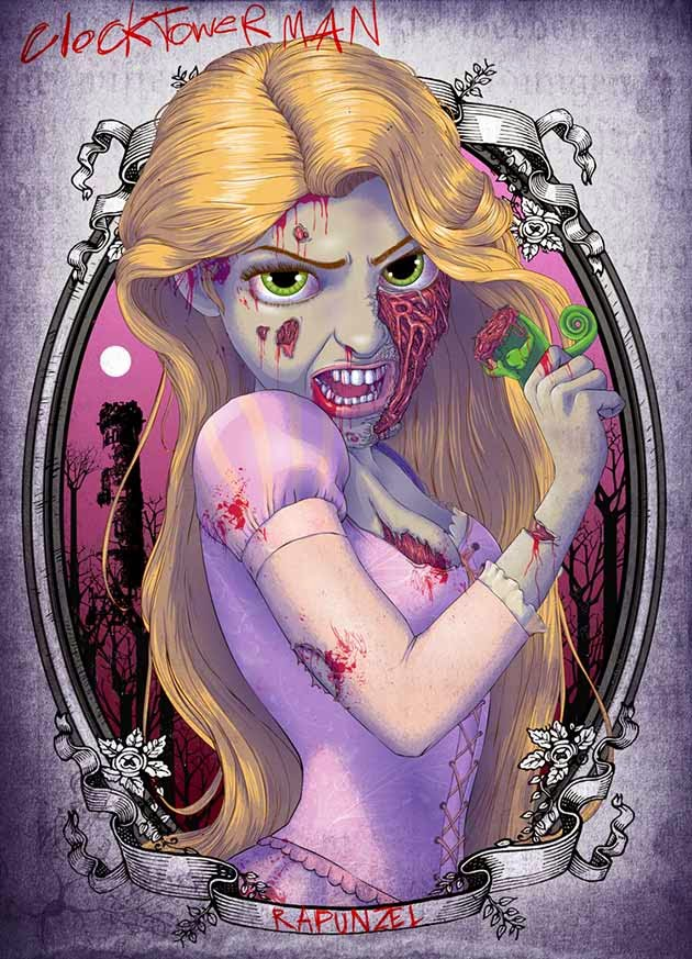 Zombies, tag, Viallen, Magicforever, blog, All-dreams-are-real,books, rapunzel