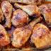 Pollo en salsa de miel y romero