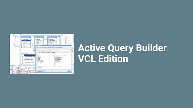 Active Query Builder VCL Edition v.1.24.12.0 untuk D5-XE7