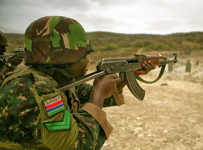 Image result for GAMBIA military