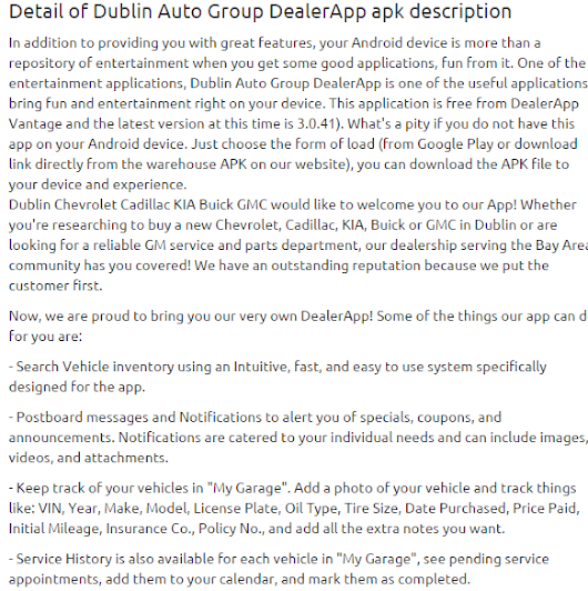 Dublin Auto Group DealerApp 3.0.41 apk | APKs 4 Fun-Download Android Apps, Games, Apks and Much More