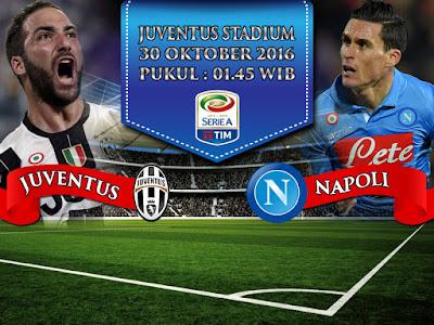 Situs Resmi Maxbet Online Terpercaya - Prediksi Bola Serie A Juventus vs Napoli 30 Oktober 2016