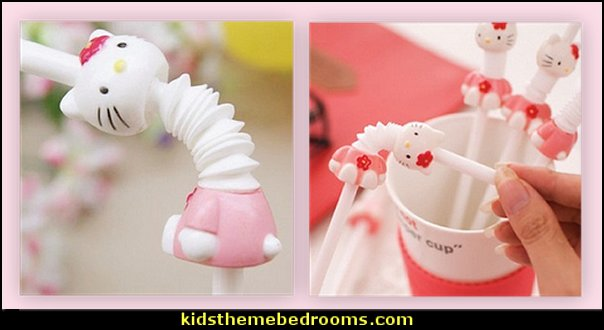 Hello Kitty straws-Cartoon Drink Straw for Children Kids birthday party   hello kitty party supplies - hello kitty party decorations ideas - Hello Kitty party decor - Hello Kitty balloons - hello kitty cake - Hello Kitty party table decorations - Hello Kitty cupcakes - Hello Kitty themed party - Hello Kitty Costume