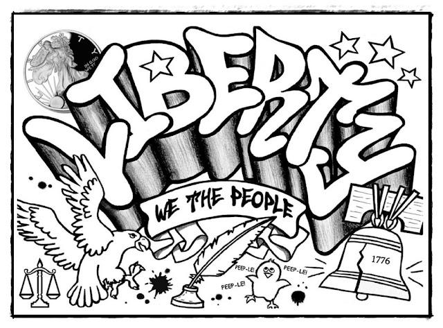 Ausmalbilder Graffiti Ausdrucken, Zeichnungen zum Nachmalen