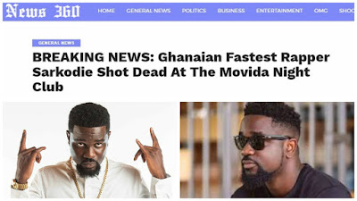 Rough Play? Ghanaian rapper, Sarkodie is not DEAD, see his latest tweet (Snapshots)