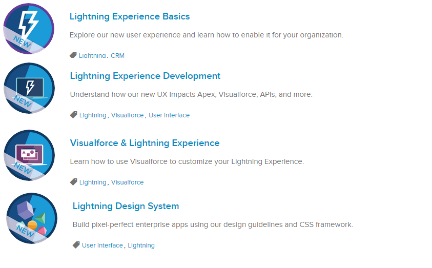 Salesforce / Trailhead / Winter16] The Lightning fever: follow the