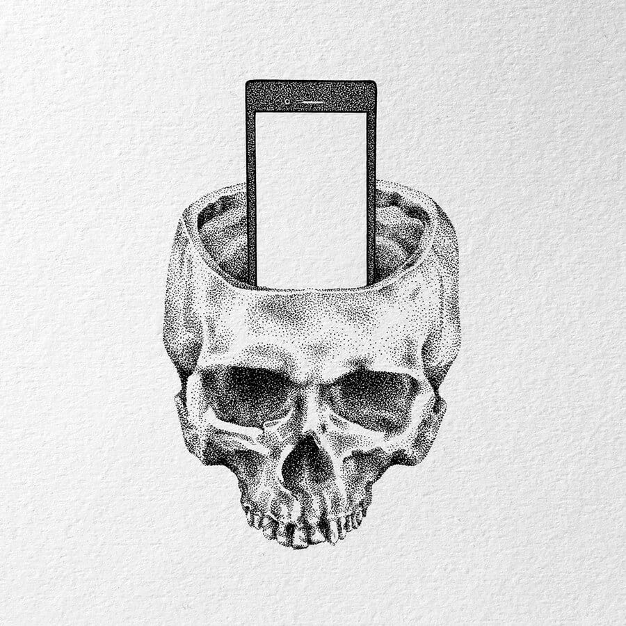08-Skull-phone-holder-Nelly-Todorova-www-designstack-co
