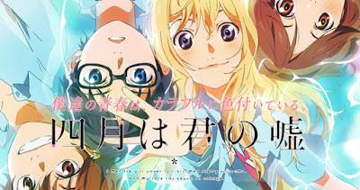 Download Shigatsu wa Kimi no Uso BD Subtitle Indonesia