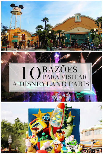 Drawing Dreaming - 10 razões para visitar a Disneyland Paris